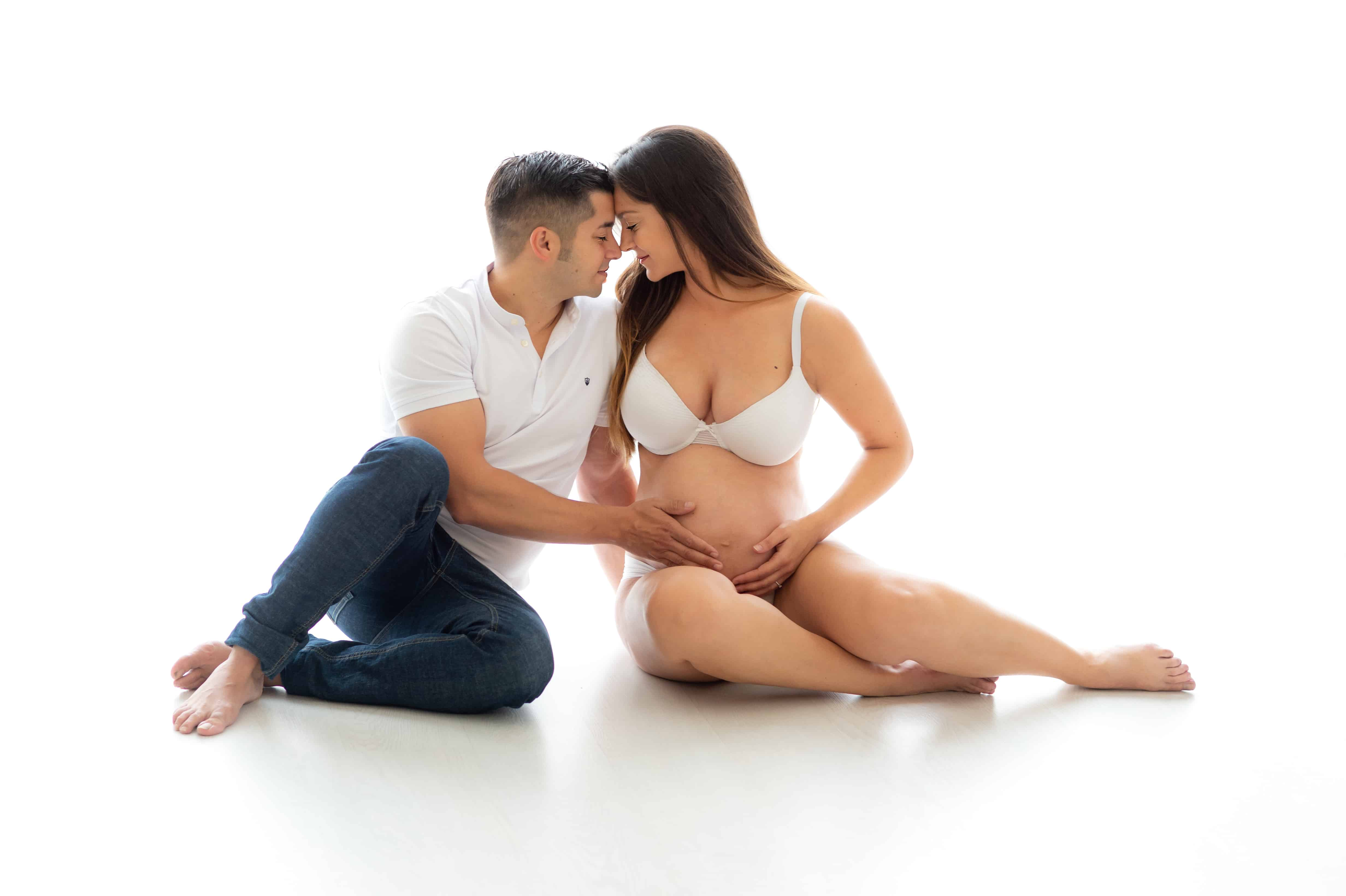 sesion embarazada barcelona santboi