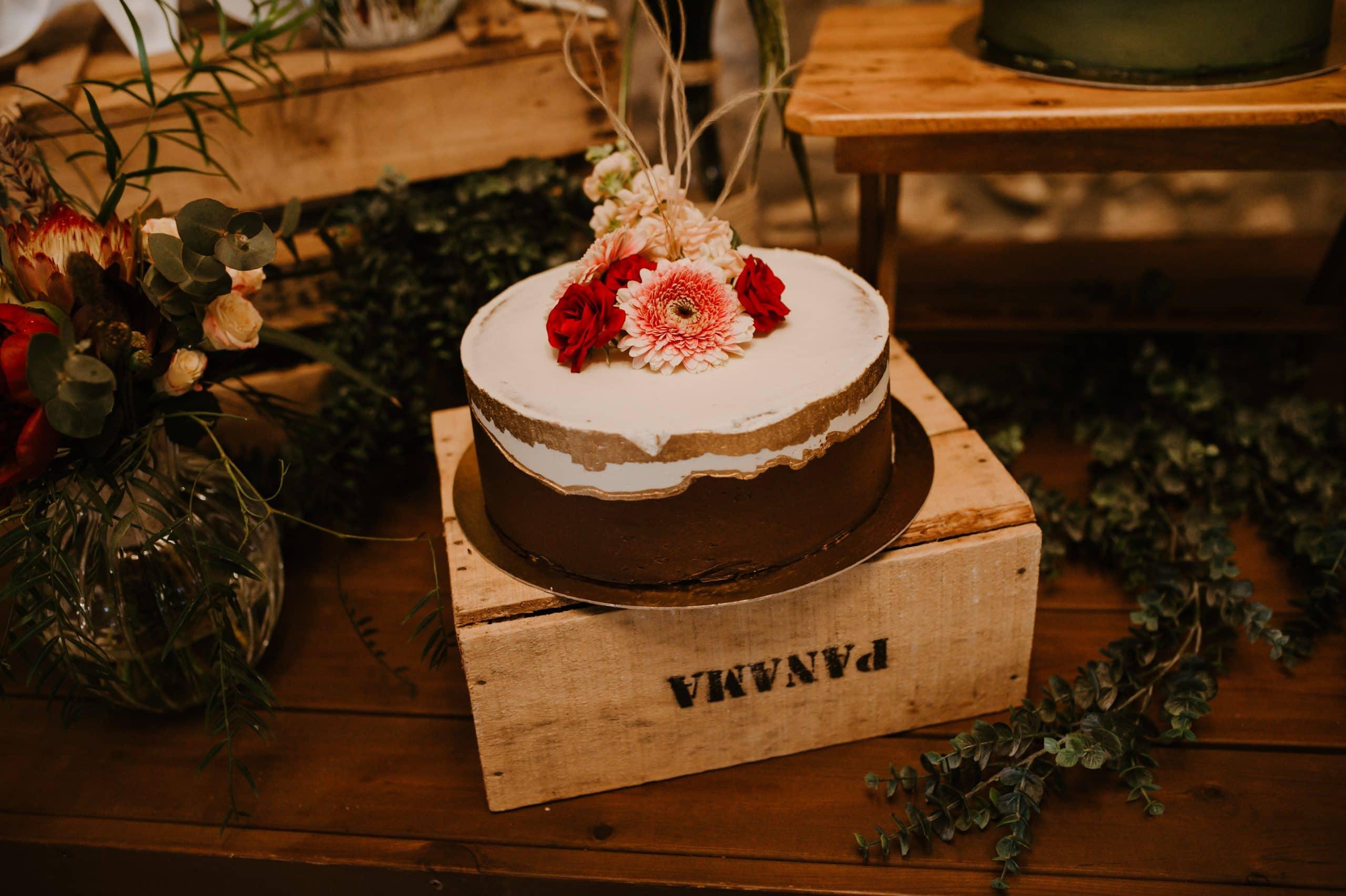 pastel rustico